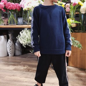 Baby Girls Winter crew neck sweater Sweater Colthes 2020 Autumn Boys Children Clothing Pullover Knitted Solid Kids Sweaters