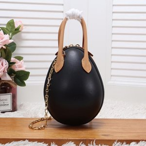 EGG New Designer Handbags Shoulder Bags Woman Chain bag Genuine Leather Lady Messenger Bag Luxury Egg Purse New with box