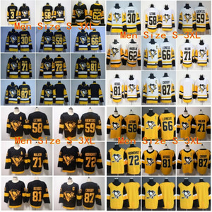 ingrosso penguins hockey -87 Sidney Crosby Pittsburgh Penguins Terzo Terzo Alternativo Jerseys Evgeni Malkin Kris Letang Jake Guentzel Phil Kessel Murray Hornqvist Kessel