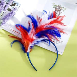 Wholesale Girl Halloween Ball Headwear Fashion Hair Hoop Feather Head Band Portable Hot Selling In Europe And America dx J1
