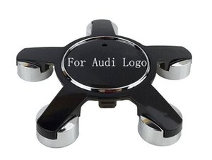 4PCS For Audi Wheel Hub Cap Center Cover 135mm ABS Hub Cap Logo sline 4F0601165 4F0601165N for A4L A6L Car Styling