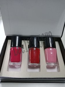 Wholesale Famous 3pcs Nail Polish Set Nail Colour 495 Mica Rose+475 Dragon+ 643 Desirio Nail Polish Set