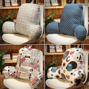 Wholesale Lumbar Back Support Cushion Relief Pillow for Office Home Travel Seat Chair comfortable design cushion lumbar support