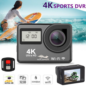 Wholesale Mini K Action Camera WIFI quot Screen Full HD P fps Helmet Camera Go Waterproof pro DV Sport Video Remote Control