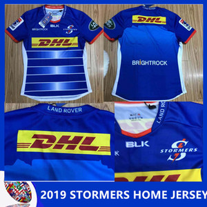 2018 19 STORMERS MEN'S HOME JERSEY Stormers 2018 Alternate Super Rugby Shirt Stormers 2018 Home Super Rugby Shirt size S - 3XL