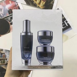 Wholesale New coming Black bottles ml eye cream ml face Cream ml night cream Advanced for lines Youth Activating Skin Care Set