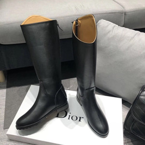 Wholesale Hot Leather Women S Boots Style High Quality Fashion Female Long Boots Ladies Shoes