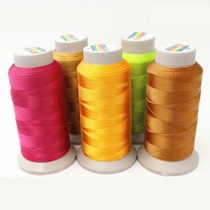 Wholesale New design colors nylon cord mm sewing machine thread for leather PU jeans DIY high quality