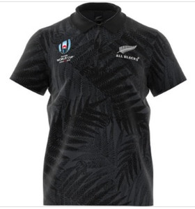 Wholesale BLACK Colors World Cup Rugby Jerseys The New Zealand black national team men T shirt top Training Shirt