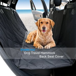 Universal Pet Mat Waterproof Dog Car Seat Cover Protector Pad Non Slip Cushion Pet Hammock Durable Oxford Cloth Anti-Scratch 137X 147cm