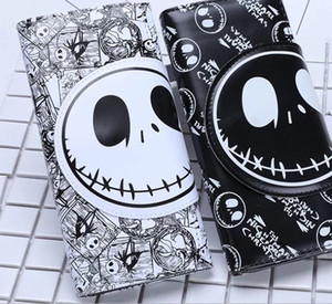 Wholesale Foreign Trade Cartoon Wallet Christmas Eve Fear Jack Skull Head Boys and Girls General Cool Wallet Long Button Wallet Make Strange Shopping