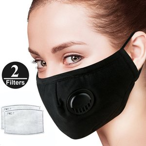 Wholesale PLENTY Stock Anti Dust mask grade protection and Smoke and Allergies Adjustable Reusable n95 Mask with Filters for Women Man pm2