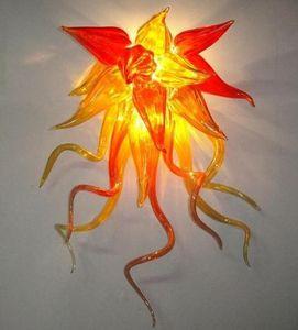 New Style Hand Blown Glass Wall Lamp Villa Wall Sconce 100% Mouth Blown Borosilicate Glass Craft Beautiful New Modern Wall Lamp