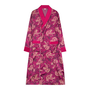 Wholesale Pajama robe suit Silk like Pajamas Men Shorts s Nightgowns amp Sleepshirts Home Service Two Piece Set sleep lounge