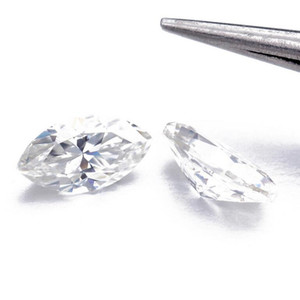 Wholesale test for diamonds for sale - Group buy Marquise Brilliant Cut Moissanite Loose Stones VVS1 Excellent Cut Grade Test Positive Lab Diamond For Making Rings Jewelry