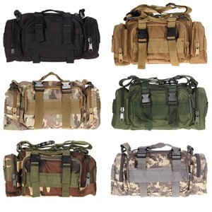 Outdoor Military Tactical Waist Bag Waterproof Nylon Camping Hiking Backpack Pouch Hand Bag military bolsa Style mochila #108525 on Sale