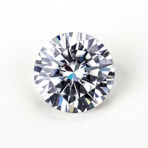 Wholesale Hot sale Round Brilliant Cut ct mmEF Color Lab Created Moissanites
