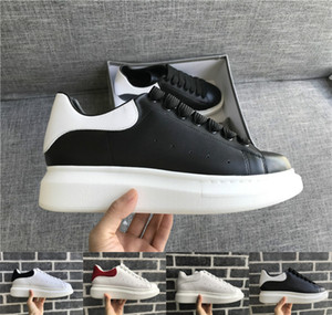 Wholesale Black White Platform Classic Casual Shoes Casual Sports Skateboarding Shoes Mens Womens Sneakers Velvet Chaussures Dress Shoe Sports Tennis