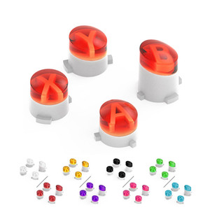 Custom ABXY Bullet Key Button Set Buttons Mod Kit for Microsoft Xbox One Wireless Controller Mod Buttons DHL FEDEX EMS FREE SHIPPING