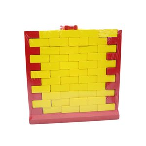 Wholesale Children s puzzle dismantling wall building wall layers stacked creative parent child board games wooden adult decompression toys