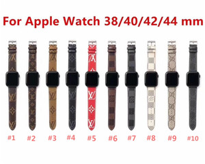 Compatible For Apple Watch Band 38mm 40mm 42mm 44mm Vintage Genuine Leather for Replacement iWatch Strap Series 1 2 3 4 Wristband For Women