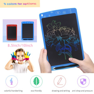 Wholesale 8 inch LCD Design Writing Tablet Drawing Board Electronic Touch Pads Slim Graphic Tablets Children Digital Handwriting Toys
