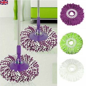 Wholesale UK Replacement Mop Micro Head Refill For Spin Magic Mop Home Cleaning