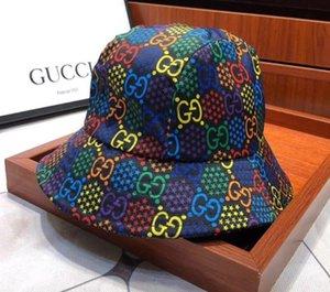 Fashion Letter Bucket Hat For Mens Womens Foldable Caps Black Fisherman Beach Sun Visor Sale Folding Man Bowler Cap