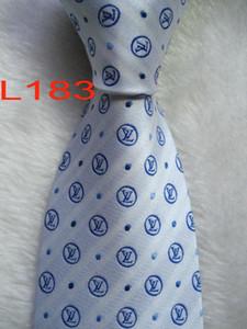 L-7 #100%Silk Jacquard Woven Handmade Men's Tie Necktie