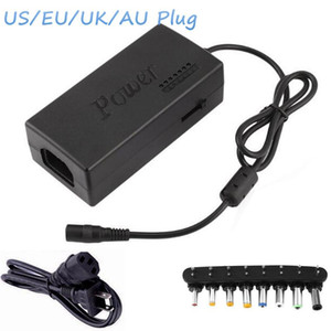 Wholesale 96W V Laptop AC Charger Adapter With EU UK AU US Plug With Connectors Universal Notebook Charger Power Supply For Lenovo ASUS Acer