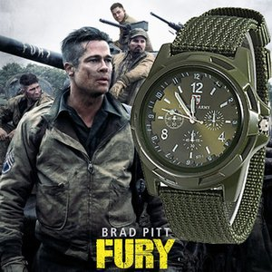 Wholesale heap Quartz Watches Men Army Watch Nylon Military Male Quartz Watches Fabric Canvas Strap Casual Cool Men s Sport Round Dial Relogios Wri