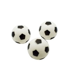 Wholesale Pet toy simple fashion silicone football diameter cm sound toy black and white medium football bite pet supplies