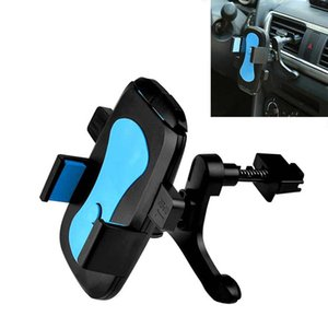 Wholesale Car Air Vent Mount Phone Holder 360 Degree Rotate Stable Bracket Hands Stand for iPhone 7 Plus HUAWEI Mate 9 V6