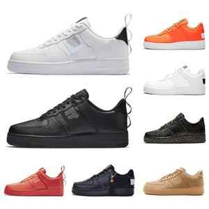 Wholesale Cheap Utility Classic Triple Black White Men Women Casual Shoes red Sports Skateboarding High Low Cut Wheat Mens Trainers Sneakers