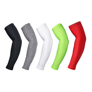 Wholesale Compression Arm Warmer Sun Uv Protection For Mens Sports Running Bike Cycling Basketball Volleyball Golf Elbow Arm Sleeves Cover
