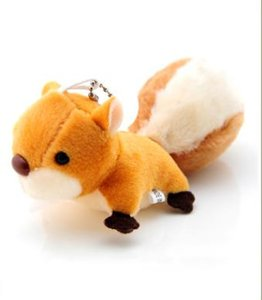 New super-big tail for super-germinated squirrel plush toy Pendant