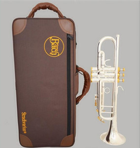 Wholesale winds instrument for sale - Group buy American original Bach Bb trumpet musical instrument LR197GS one horn silver plated playing professionally Wind professional
