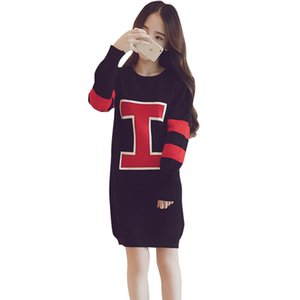 Wholesale LHQ Spring New Long and Medium length Women s clothes New Korean Long Sleeve Large Size Women s Hoodies and Sweatshirts