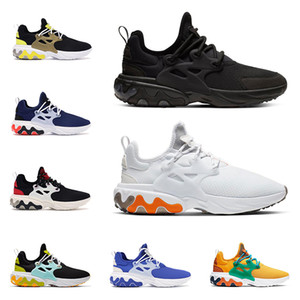 Wholesale 2020 Hot react presto BEAMS men women running shoes DHARMA triple black Breakfast Teal Tint mens trainer outdoor sports sneakers runner