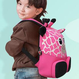 Wholesale 3d Animal Backpacks Kindergarten School Bag 3-6 Years Old Boys And Girls Anti-Lost Backpack For Princess And Prince