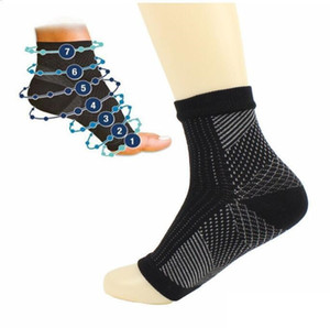 Factory price! Foot Angel Anti Fatigue Foot Compression Sleeve Sports Socks Circulation Ankle Relief Outdoor Running Cycle Basketball Socks
