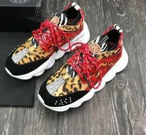 New Chain Reaction Men Women Designer casual Shoes Best Quality Fashion Trainers Sneakers Casual shoes With Dust Bag yuu9114