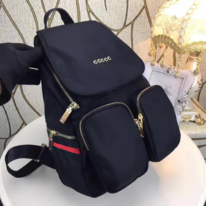 2019 European style brand backpack fashion designer multi-pocket package women and mens backpacks high quality handbags popular travel bag