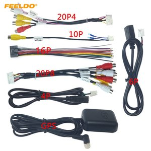 FEELDO Car Head Unit Stereo Wire Harness Kits Compatible For XY AUTO Android Solution Interface #4919