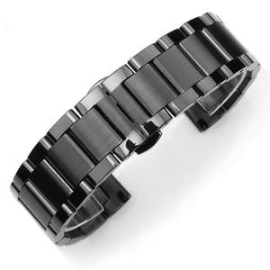 21 4.0 thick hot three beads steel strap stainless steel solid watch with 16-26mm spot