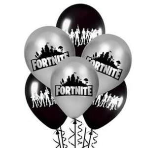 Wholesale Black Printed Balloon Game Theme Latex Balloon Hot Sale Air Ballon Birthday Party Decoration Photo Prop
