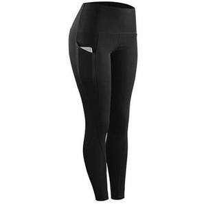 29a03c1452d Wholesale Black high waist Pocket Sports legging for Women New Plus Size  Women Fashion Leggings Pants
