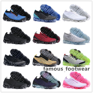 2019 Flywire Designer Running Shoes flair Olive Cushion triple black Men Women sock Sports Chaussures BE TRUE trainers Sneakers