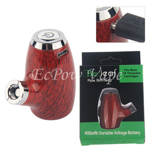 1Pcs E-Pipe Best Wooden E Cigarette Mods Vapor E-cig Vape Pre heat Vaporizer VV Battery Preheating Pipe Wooden Design By ePacket New Arrival