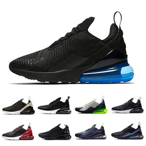 Wholesale Photo blue mens running shoes Bred Triple Black white volt Platinum Tint Habanero Red Regency Purple men women trainer sports sneakers